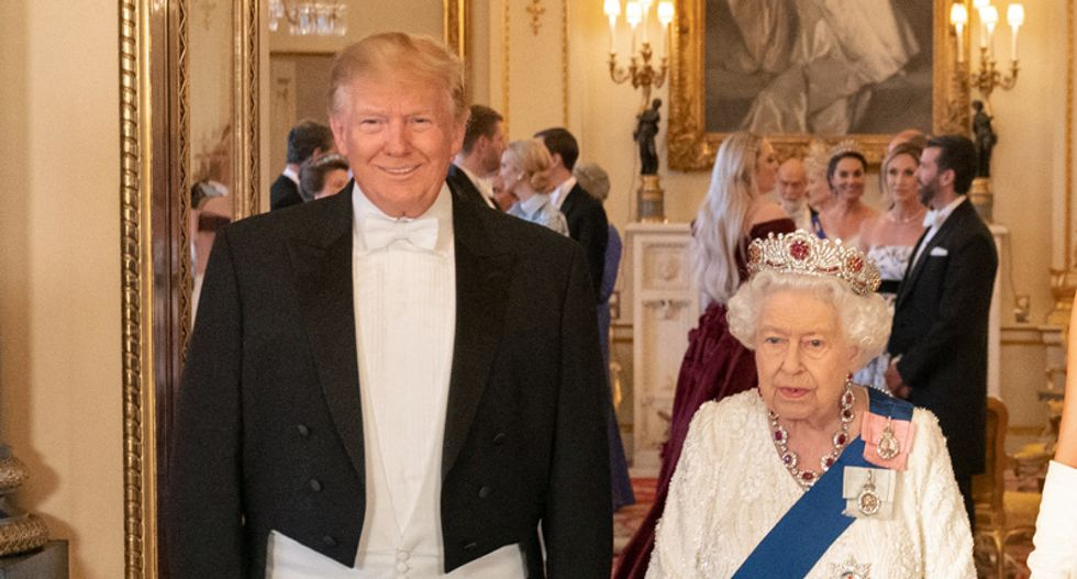 While on an official NATO trip — Trump will fundraise for his re-election in London