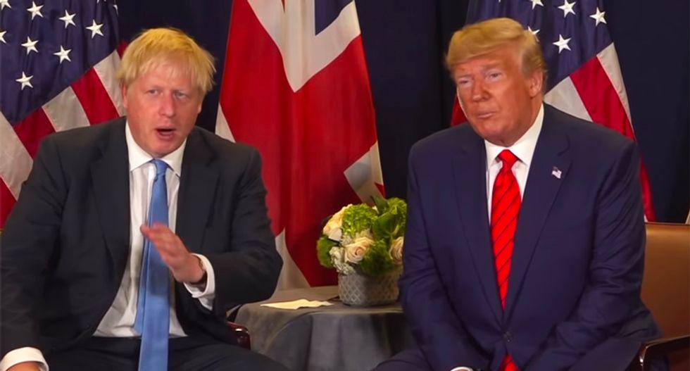 Allies panicked Trump will go 'off script' in UK next week and kill Boris Johnson's hold on power