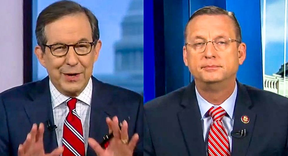 'You're pretty wound up': Chris Wallace chuckles at Doug Collins after he says Schiff must be first witness
