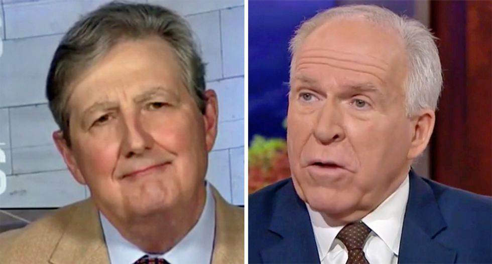 GOP Sen John Kennedy 'knows he is being dishonest' in pushing Russian disinformation: former CIA director