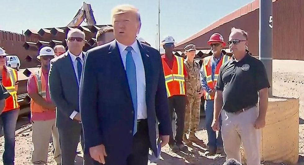 REVEALED: Trump's border wall is costing taxpayers billions more than initial contracts