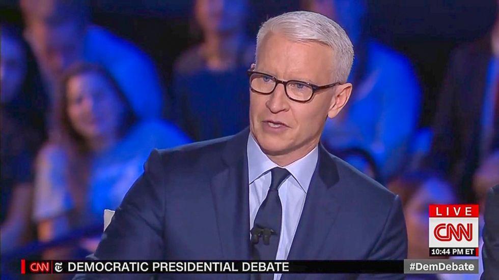 CNN buried in scorn for asking final debate question on Ellen DeGeneres and George W. Bush's friendship
