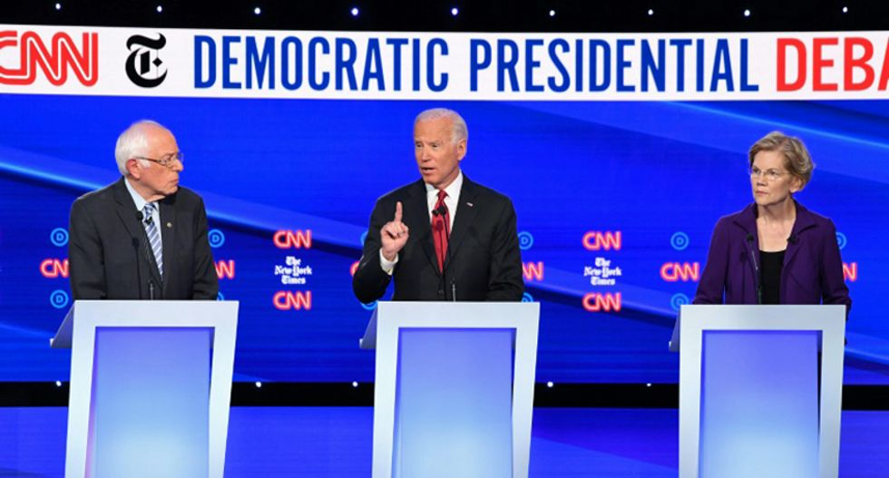 Democrats blast Trump and demand his impeachment at CNN debate