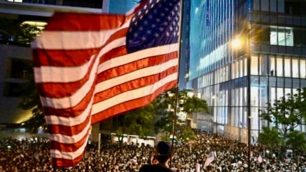 US House passes Hong Kong 'Democracy Act'