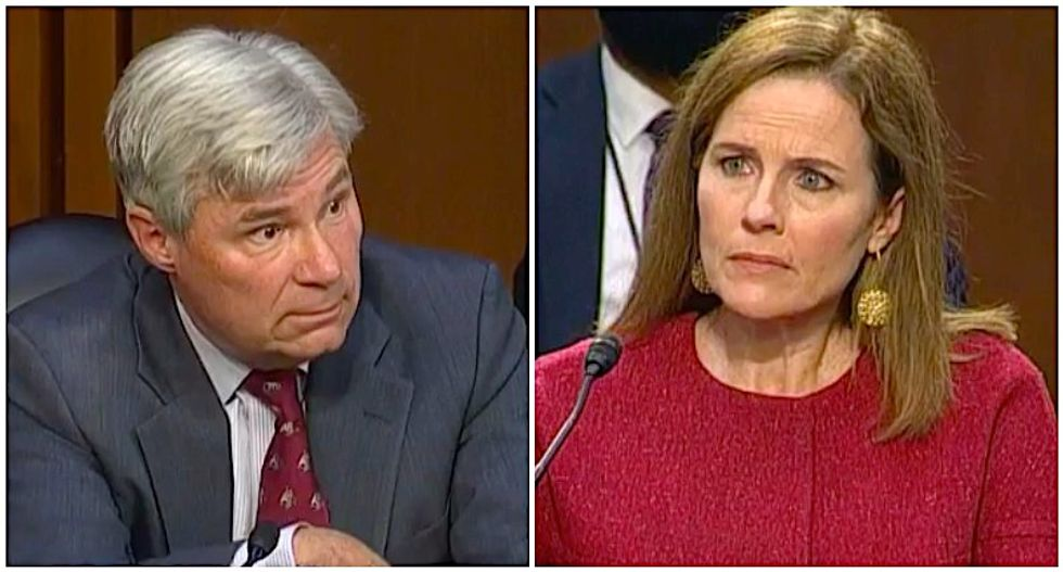 WATCH: Sheldon Whitehouse masterfully exposes right-wing conspiracy to rig the courts