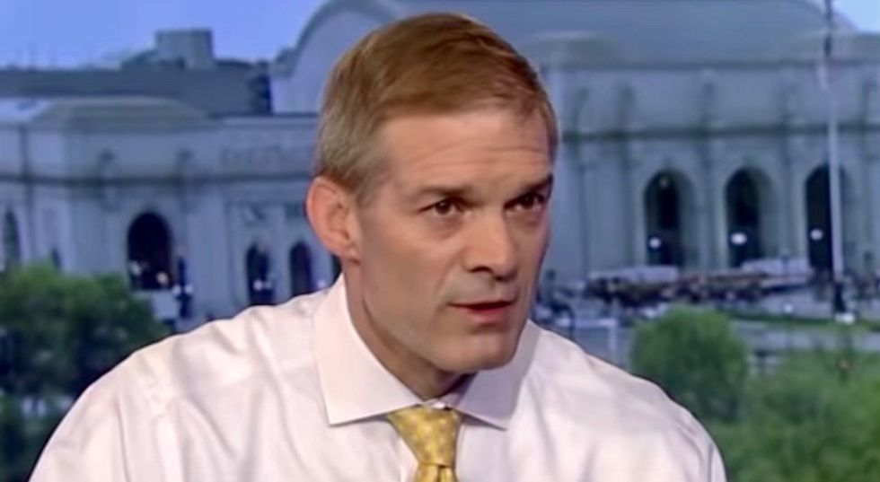 Republican Jim Jordan flies into rage about Pelosi's demand that Trump delay his State of the Union