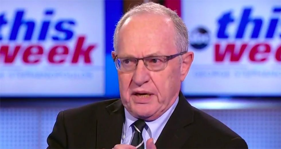 Trump ally Alan Dershowitz gets gloomy over Cohen hearing: 'This is not a good day for the president'
