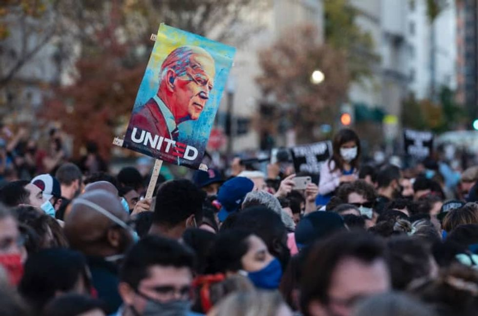 China sends 'congratulations' to Joe Biden on US election win