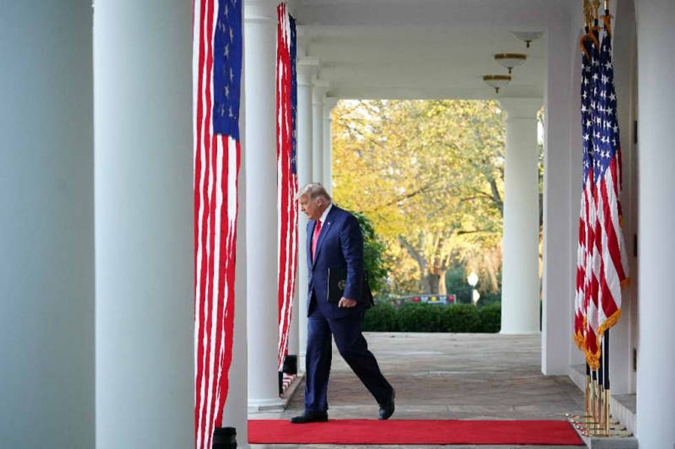 'He won because...' -- Trump edges toward accepting Biden victory