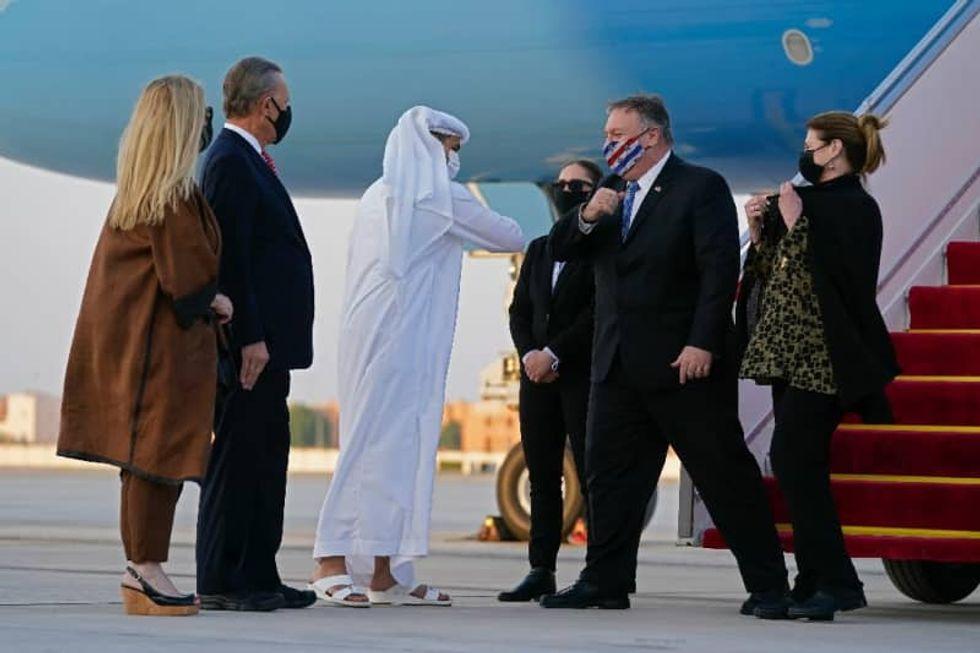 Mike Pompeo to meet Taliban negotiators in Qatar