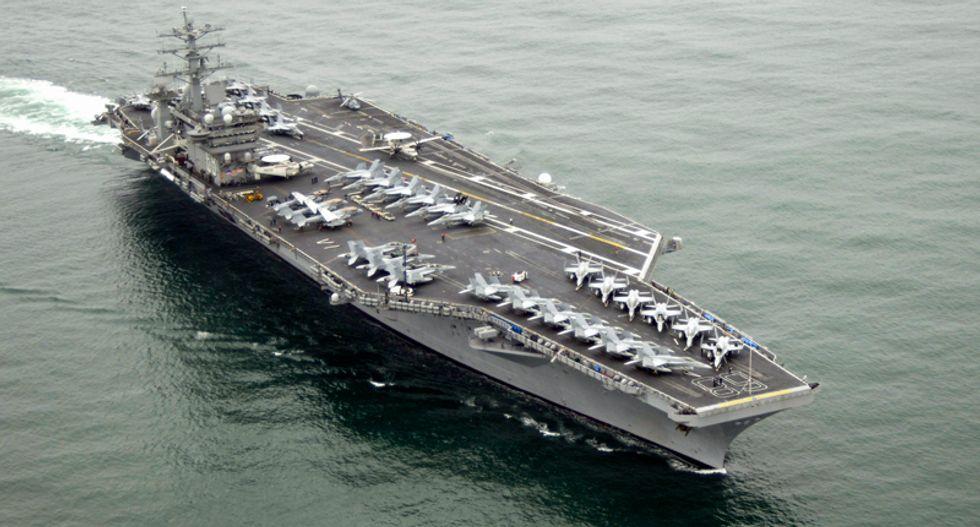 Trump Pentagon deploys USS Nimitz aircraft carrier to the Persian Gulf: report