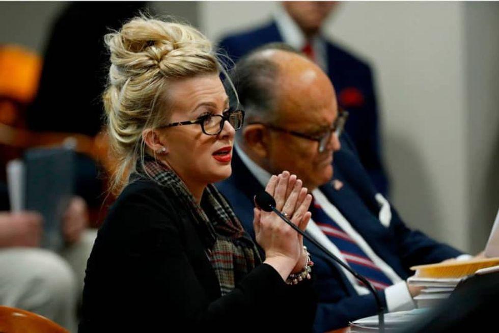 Giuliani's star witness Mellissa Carone served probation after sex video plea deal