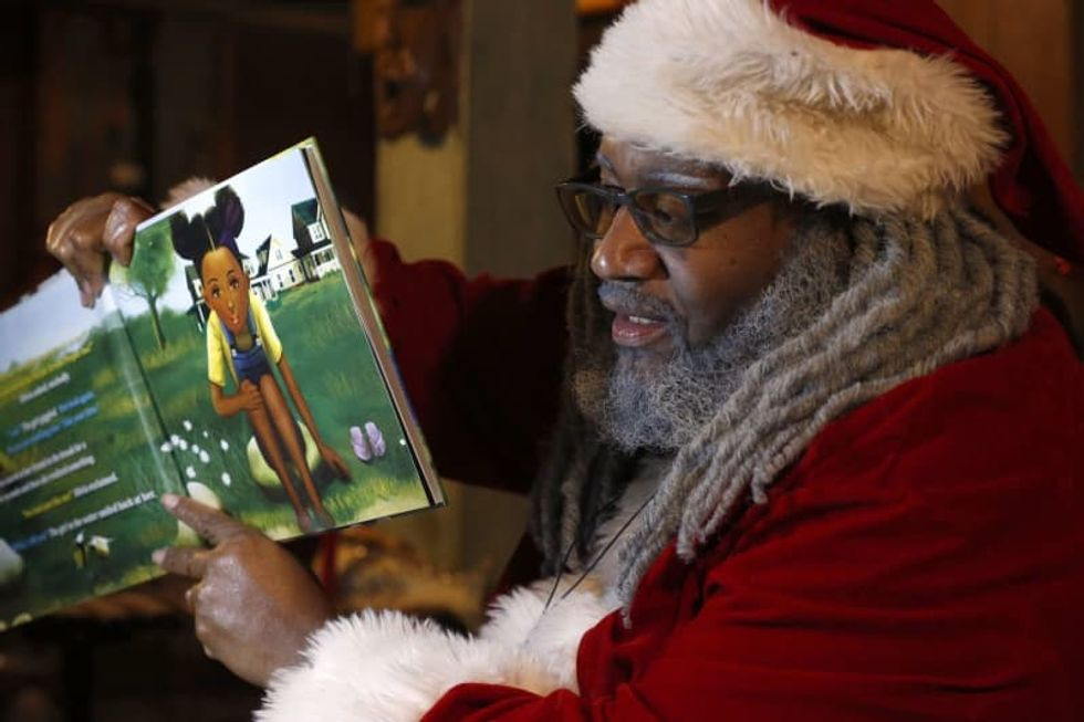 'This feeling is needed.' Virtual Santas go all out to make Christmas special for kids during the pandemic