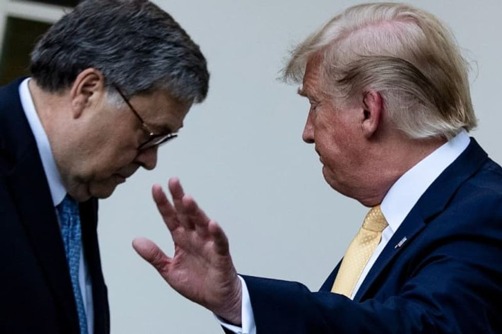 Bill Barr -- Trump's fixer or 'big disappointment'?