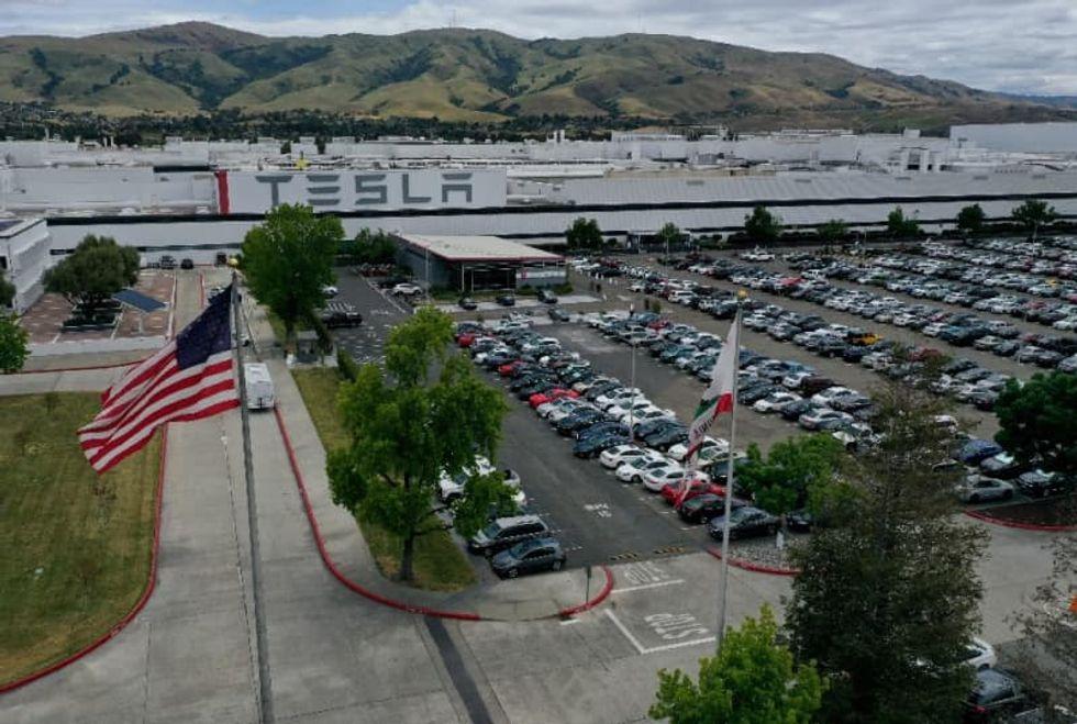 Tesla factory workers exempt from California's new virus curfew