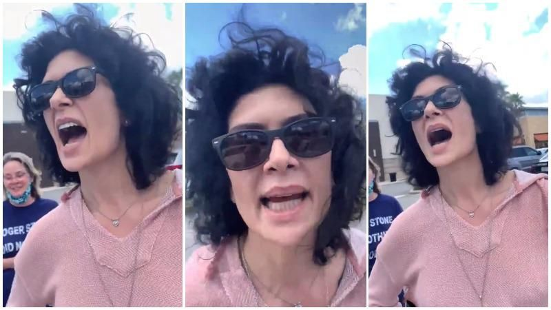 Trump supporter harasses women in parking lot and delivers crazed rant about Kamala Harris being 'a man'