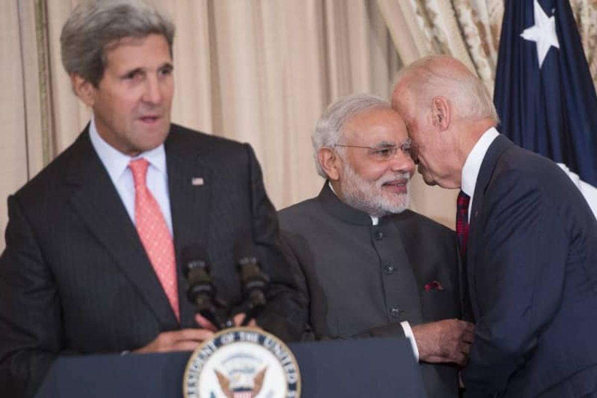 In message to China, Biden to meet Australia, India, Japan PMs