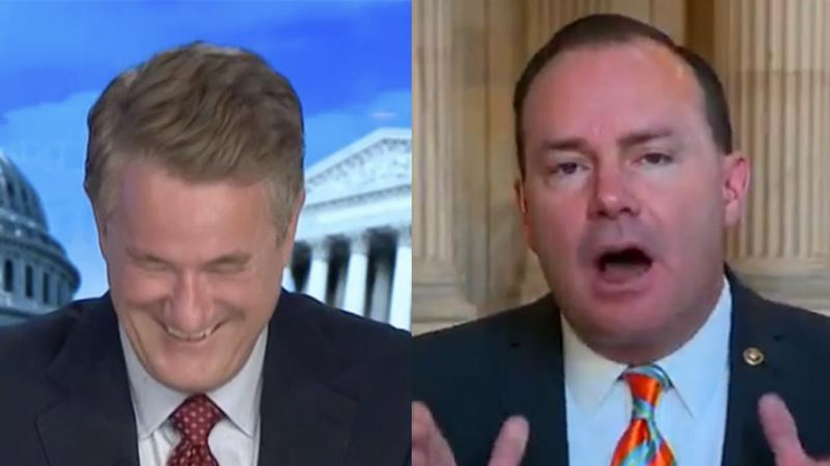 Morning Joe panel bursts out laughing at GOP senator's over-the-top meltdown about voting bill