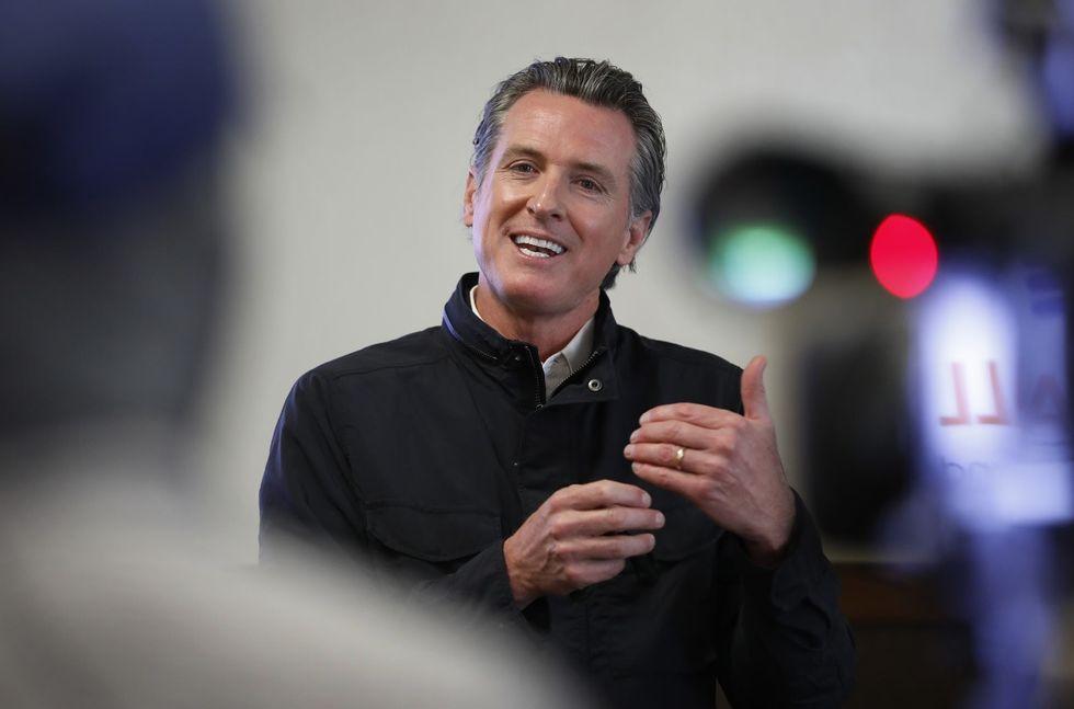 Gov. Gavin Newsom's anti-recall strategy: Brand the other side as Republican