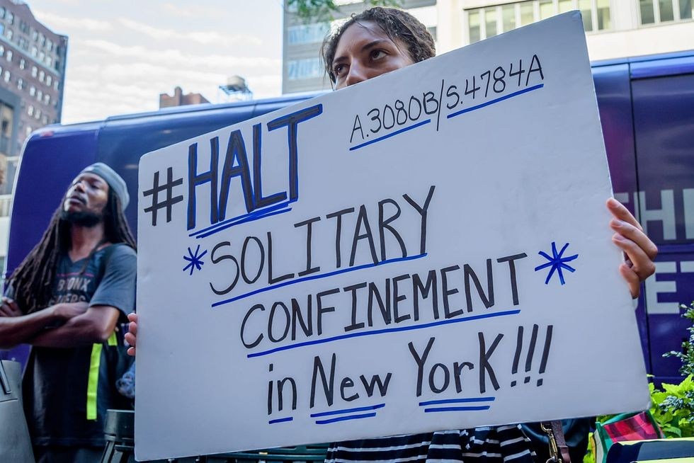 New York restricts use of solitary confinement, limits it to 15 consecutive days