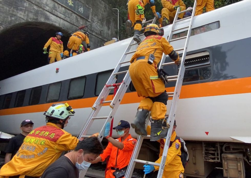41 people killed in deadly train accident in eastern Taiwan