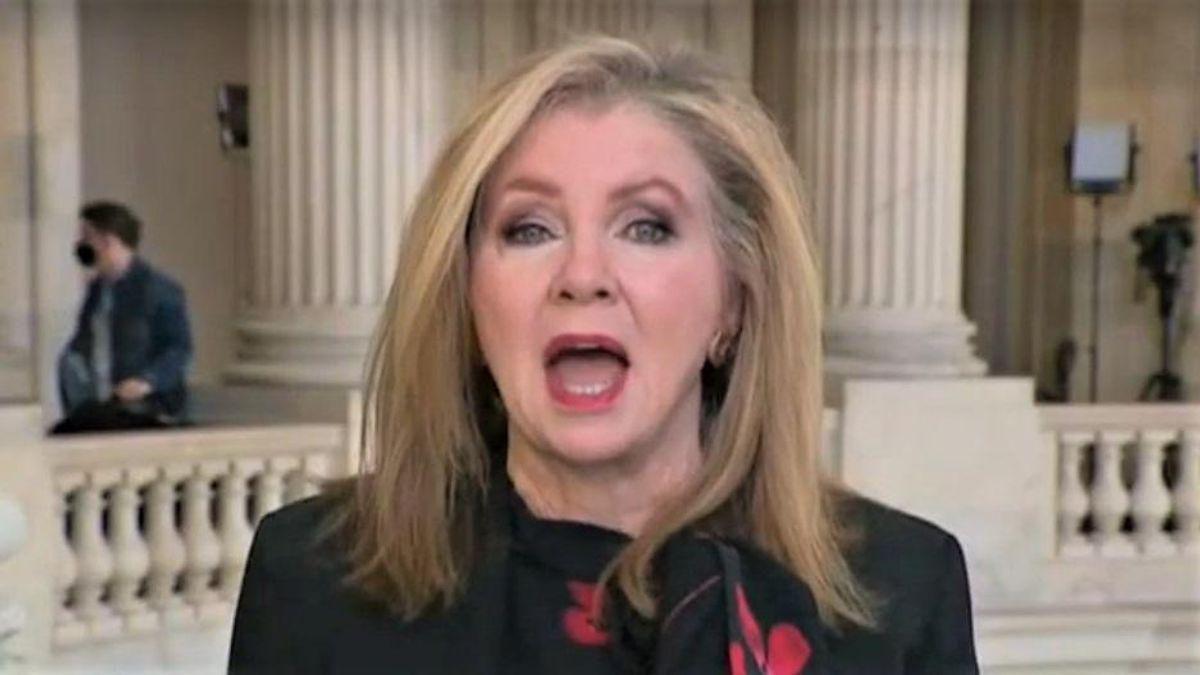 GOP's Marsha Blackburn mocked for complaining that Biden shouldn't be spending on 'elder care'