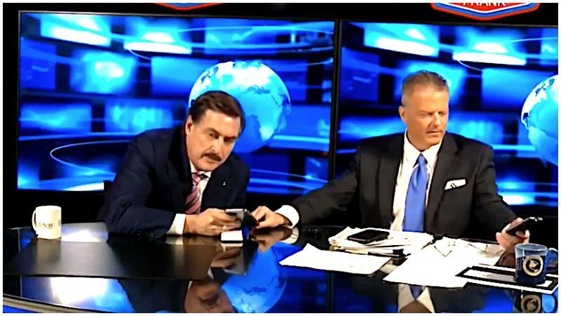 WATCH: MyPillow CEO Mike Lindell humiliated live on the air after being duped by Trump impersonator