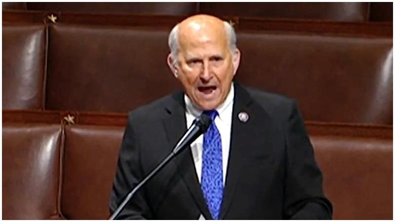 Republican claims Capitol rioters are 'political prisoners' in rambling speech on the House floor