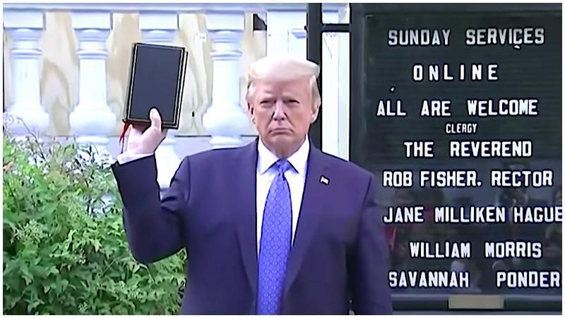 Police did not use tear gas on protesters to clear way for Trump's Bible 'photo op': inspector general report