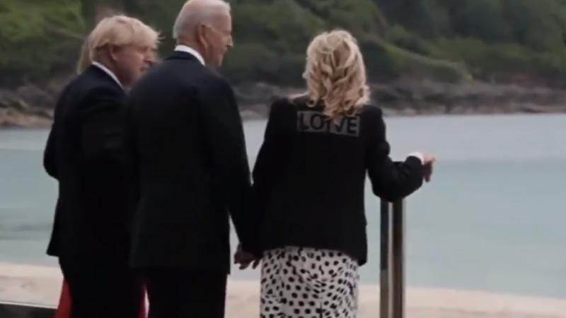 'She just owned Melania': Jill Biden sets the internet ablaze with 'Love' jacket