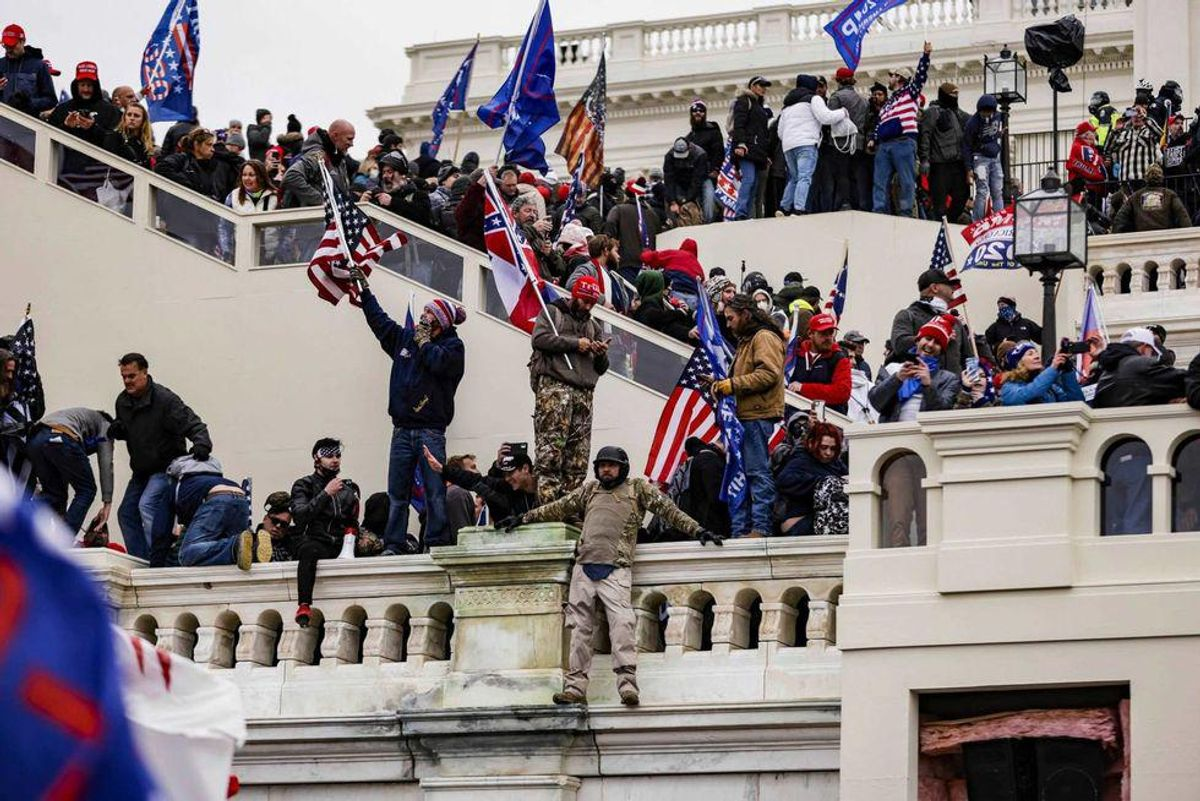 Violent Capitol rioter who attacked both the police and the media on January 6 arrested by the FBI
