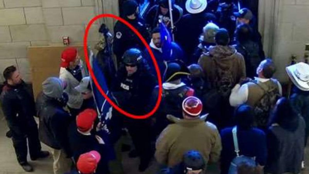 FBI busts Capitol rioter who impersonated member of the press