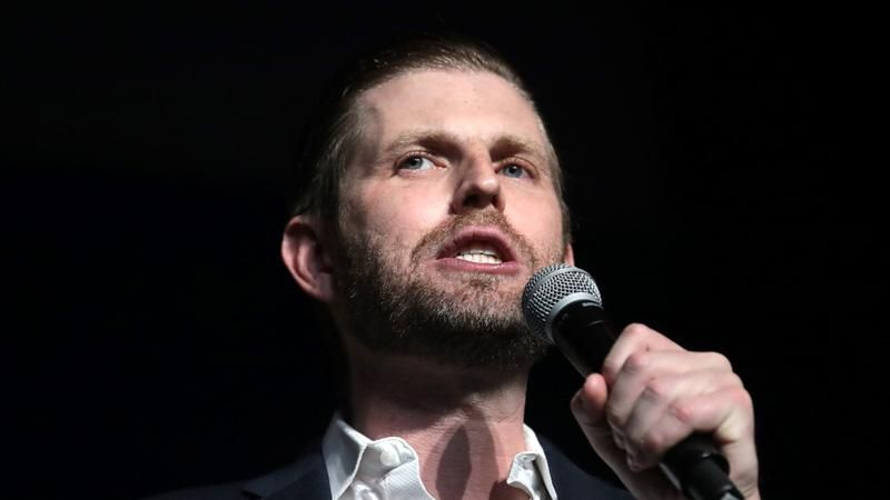 'The election is being stolen!' Bombshell book describes Eric Trump's 'apoplectic' Election Night meltdown