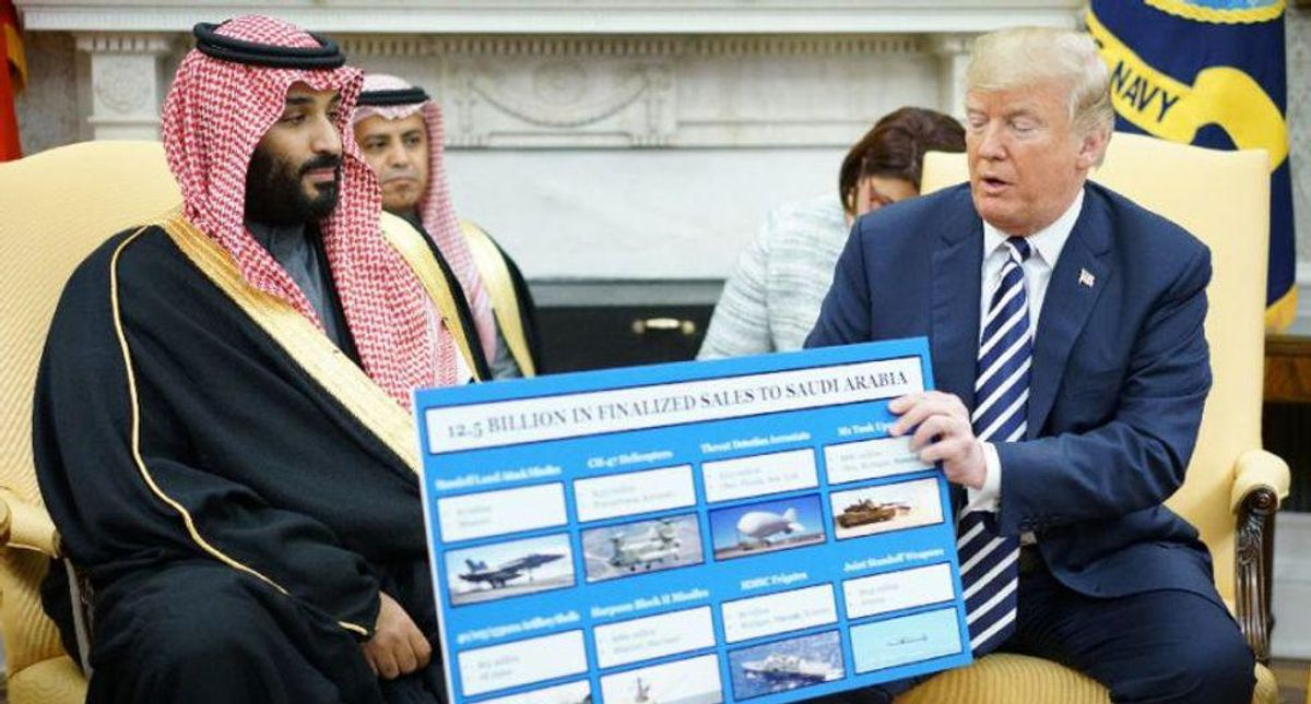 New questions raised over Saudi and Emirates' influence over White House after Trump pal arrested: columnist