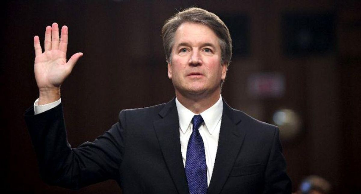 Of course Trump stalled the Brett Kavanaugh probe: Republicans never cared about #MeToo