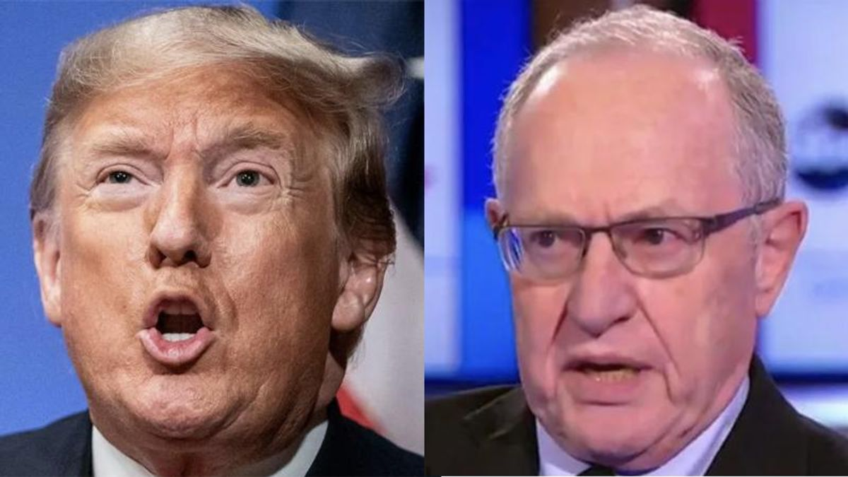Alan Dershowitz wanted nothing to do with Trump's latest lawsuit: report
