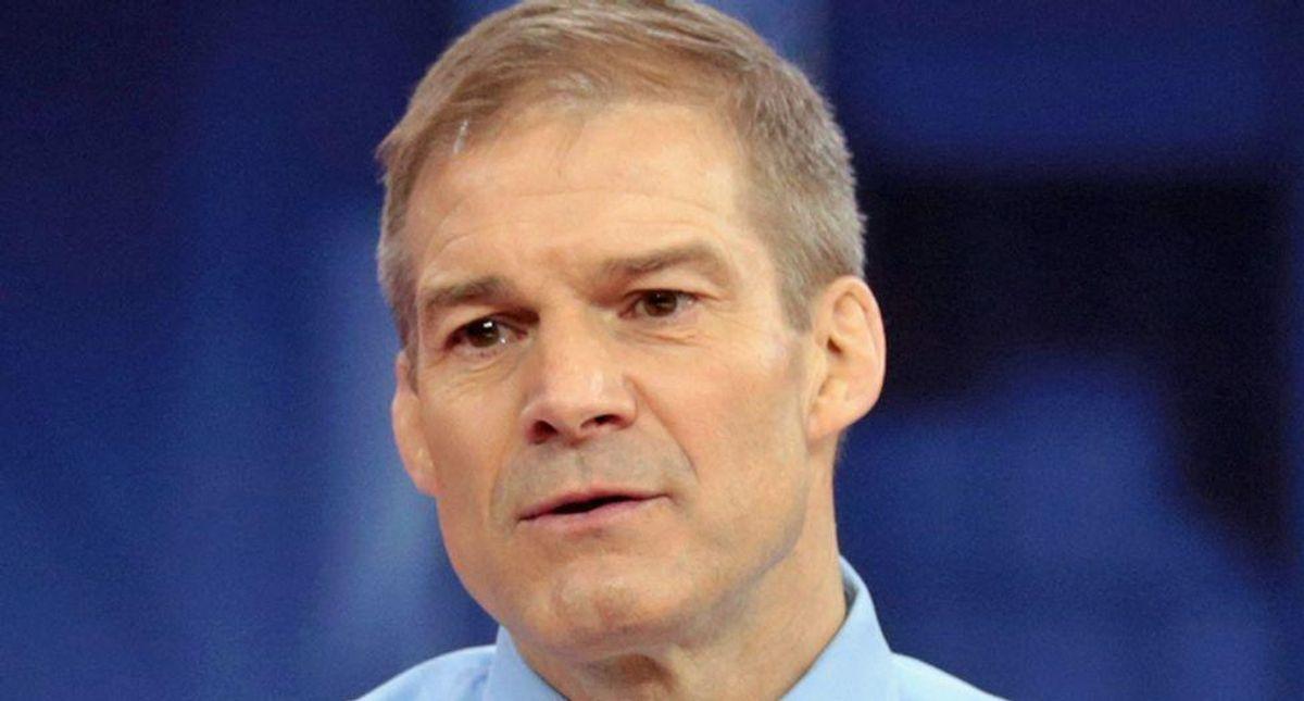 GOP pulls last-minute stunt in desperate bid to get Jim Jordan on Capitol riot commission