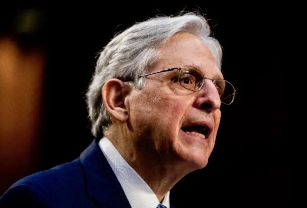 Merrick Garland gets warned against making 'a gross error' that would invite 'future insurrections'