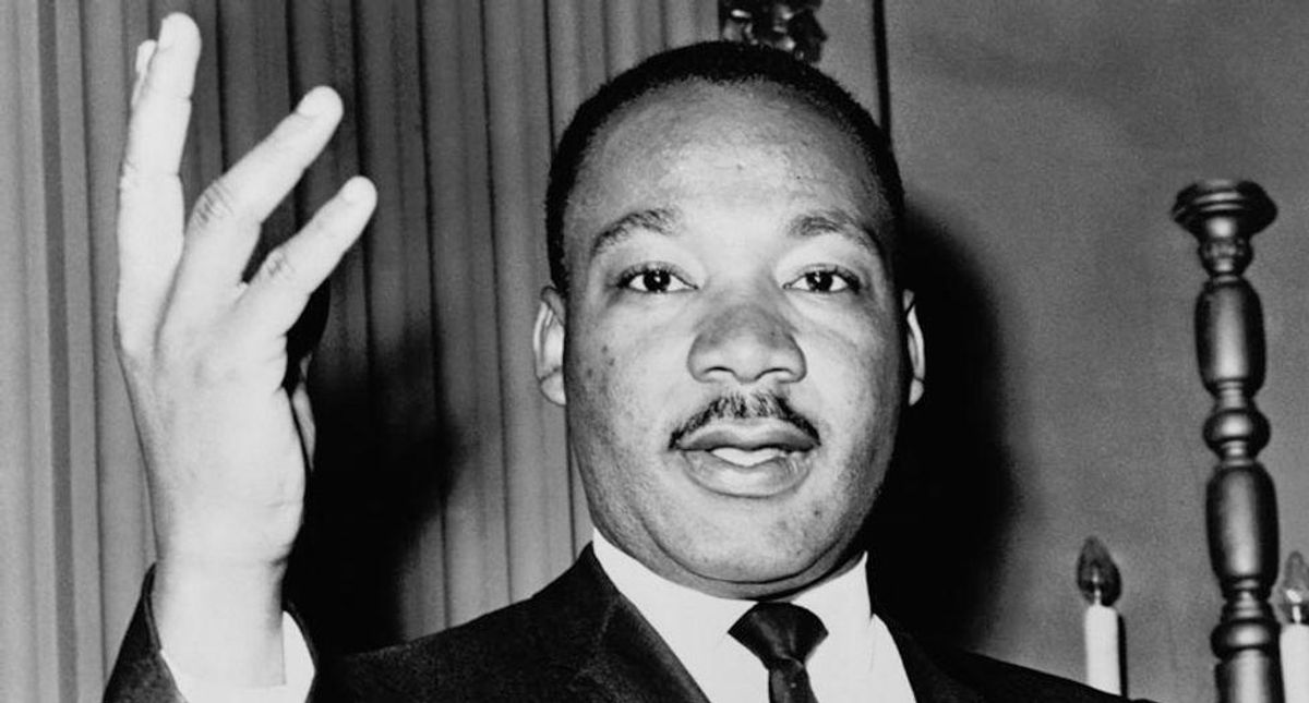 MLK Jr's son says Republicans are misrepresenting his father's words in effort to whitewash history
