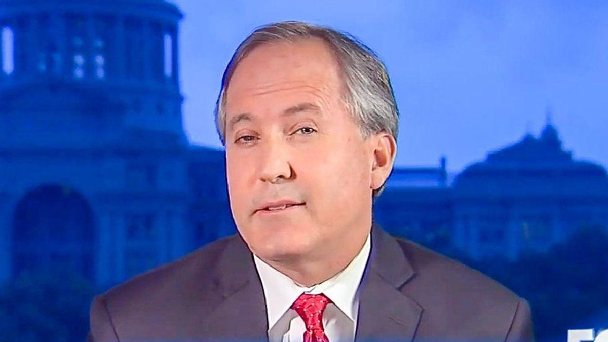 Texas AG Ken Paxton is backing away from Trump's fraud claims for one very selfish reason