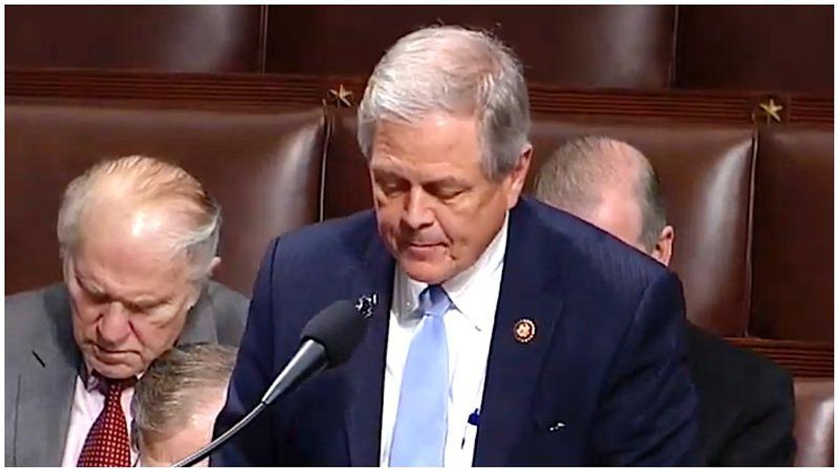 House Republican tests positive for COVID-19 after suing Nancy Pelosi over mask mandate