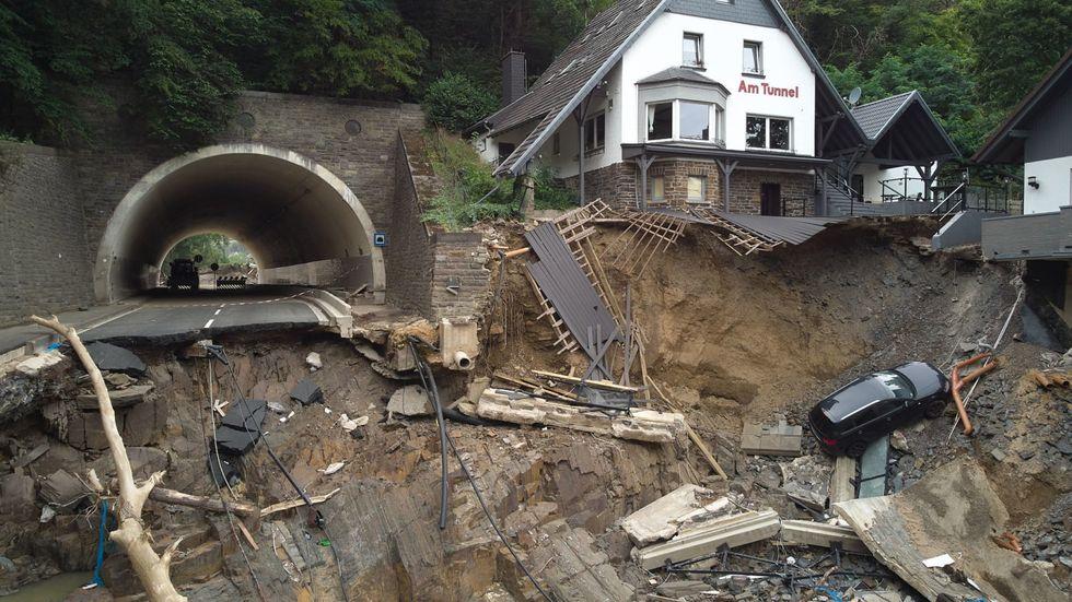 German flood disaster damage bill to top 26 billion euros