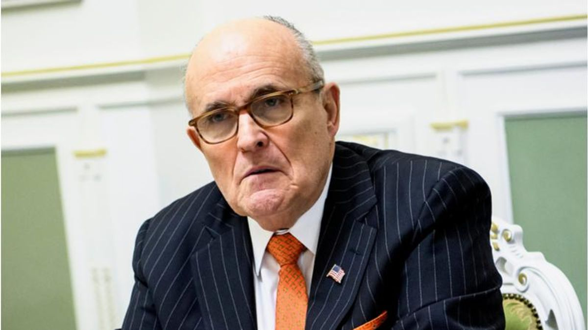 Rudy Giuliani signs up with Cameo's celebrity messaging service as legal bills mount
