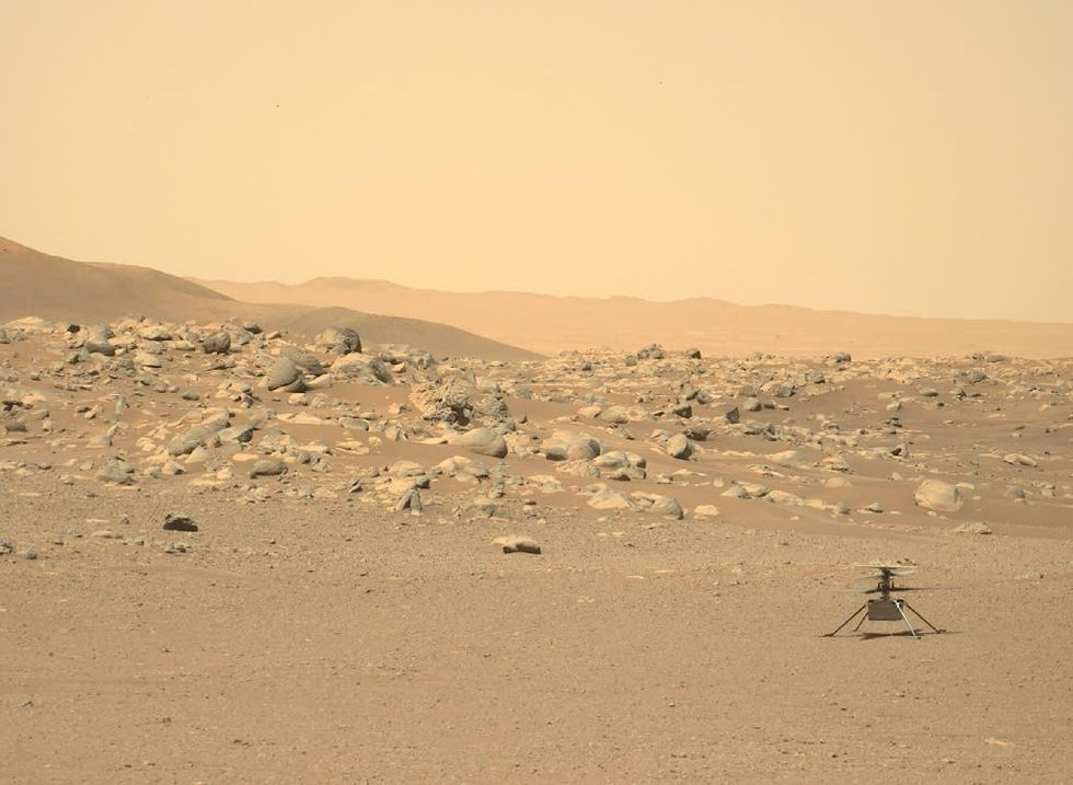 After six months on Mars, NASA's tiny copter is still flying high