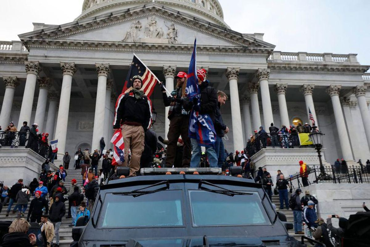 'We were right': Marine Corps vet Richard Avirett was at the Capitol on Jan. 6 -- but hasn't been charged