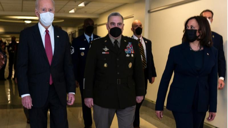 Gen Milley was 'one of the happiest people' at Biden's inauguration: new book
