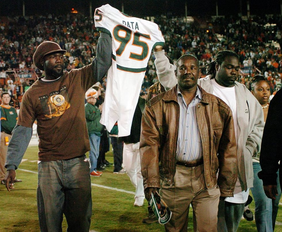 Former Miami football player pleads not guilty in 2006  murder of Bryan Pata