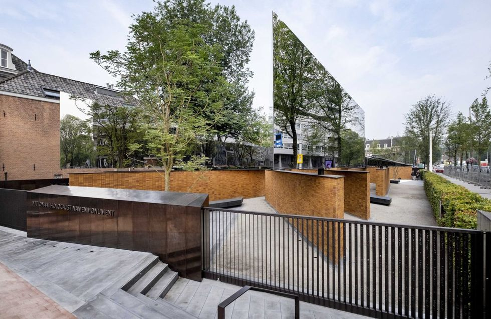 Dutch Holocaust memorial opens after years of legal dispute