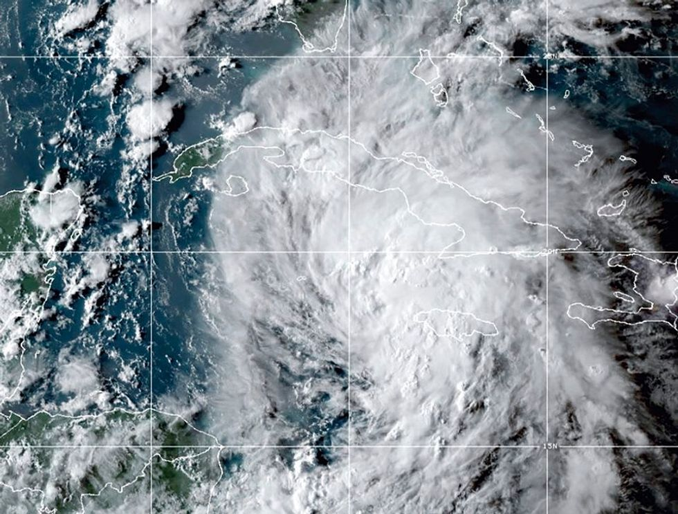 They keep coming! Tropical Storm Peter forms over the Atlantic Ocean.