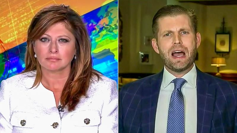 Eric Trump melts down on Fox News because he's getting 'subpoena after subpoena after subpoena'